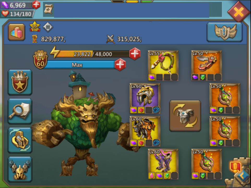 830m Lords Mobile P2p Account Lord S Gems
